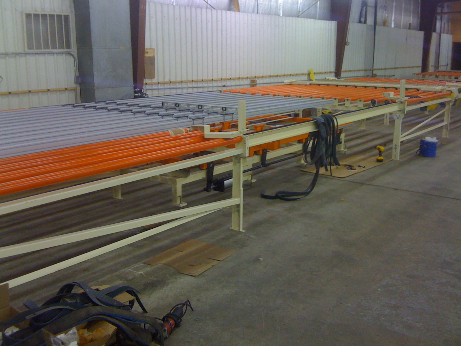 Custom/Specialized Conveyors(ultraviolet, etc.) - 180 degree transfer photo2 | Glassline