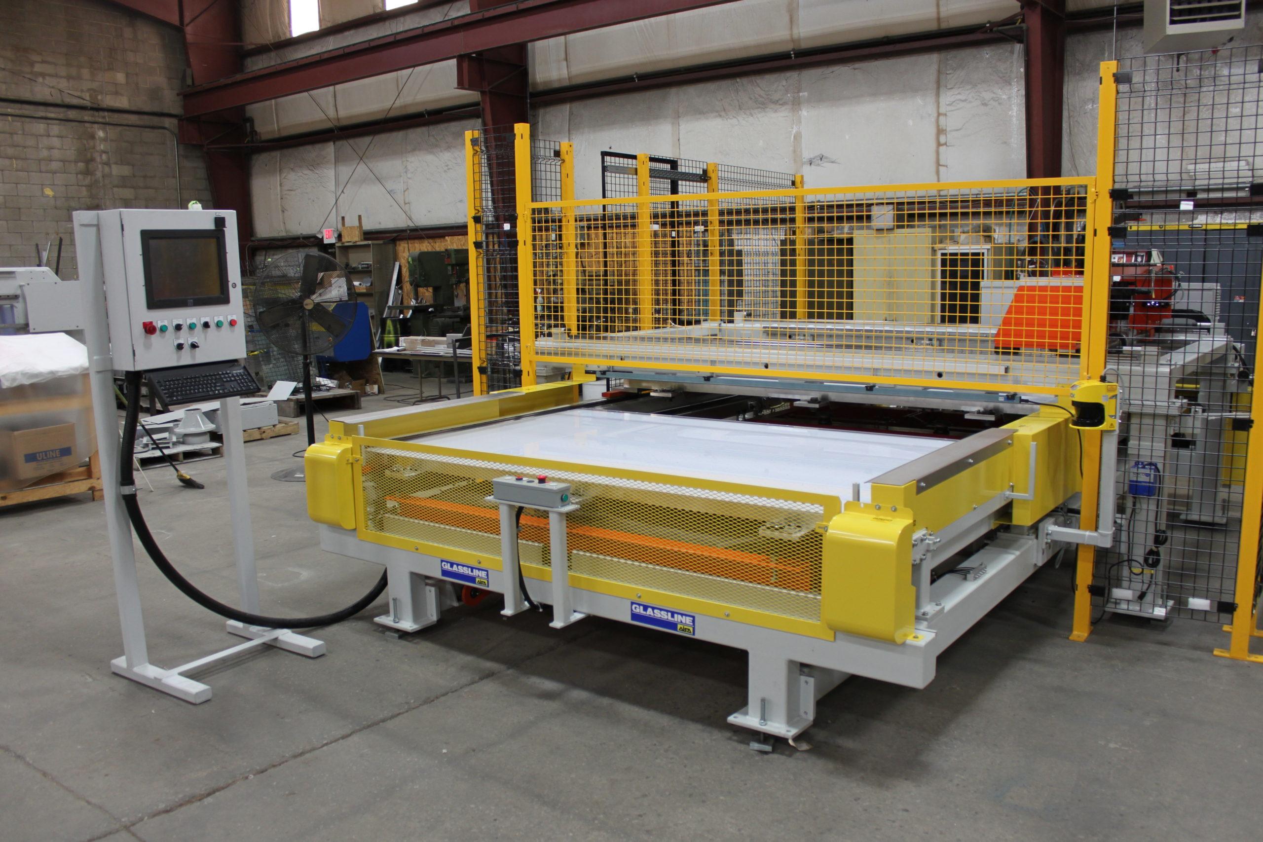 PVB CNC Shape Cutter - Glassline 4