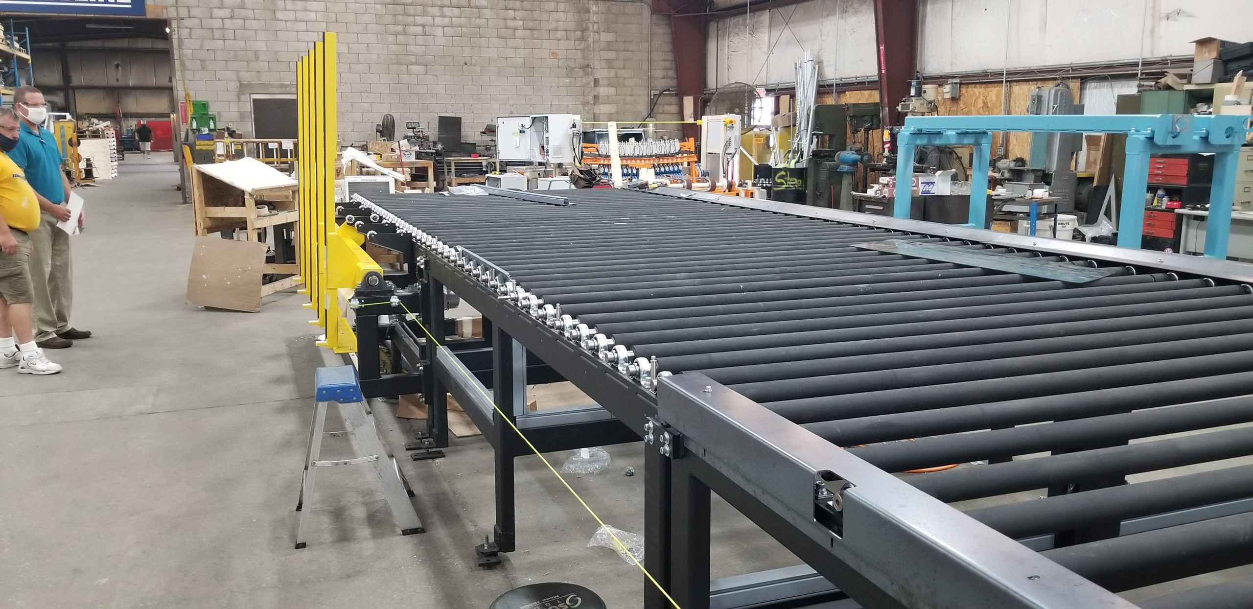 Lite-Sentry Vision Inspection Conveyors - Glassline 3