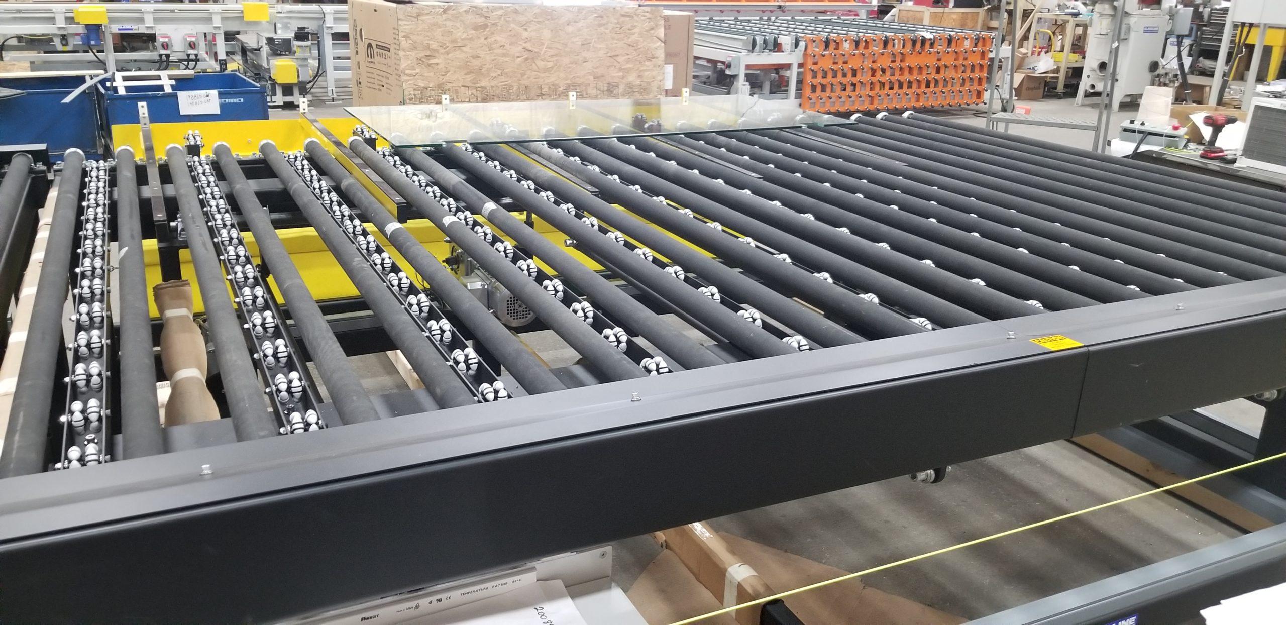 Lite-Sentry Vision Inspection Conveyors - Glassline 2