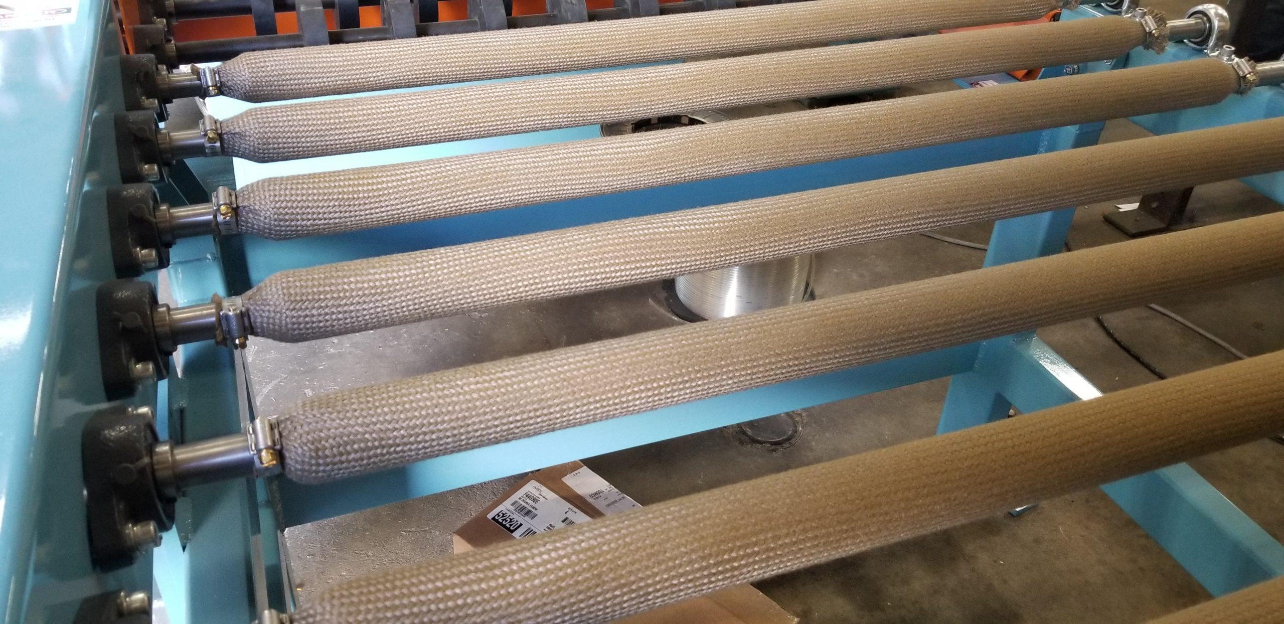 Roll Conveyors - High Temperature | Glassline