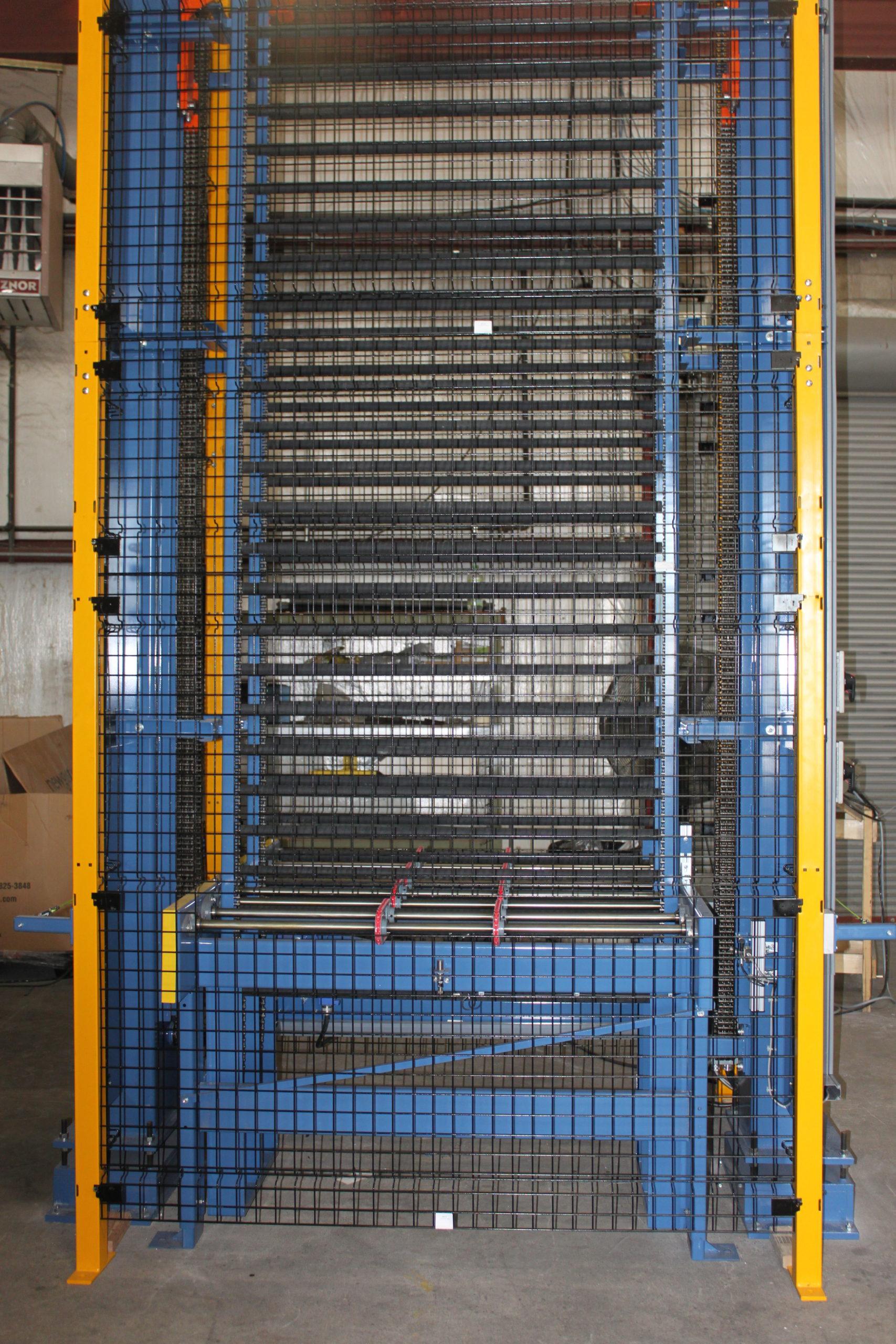 Vertical Accumulators- 25 level Accumulator for bent sidelites | Glassline