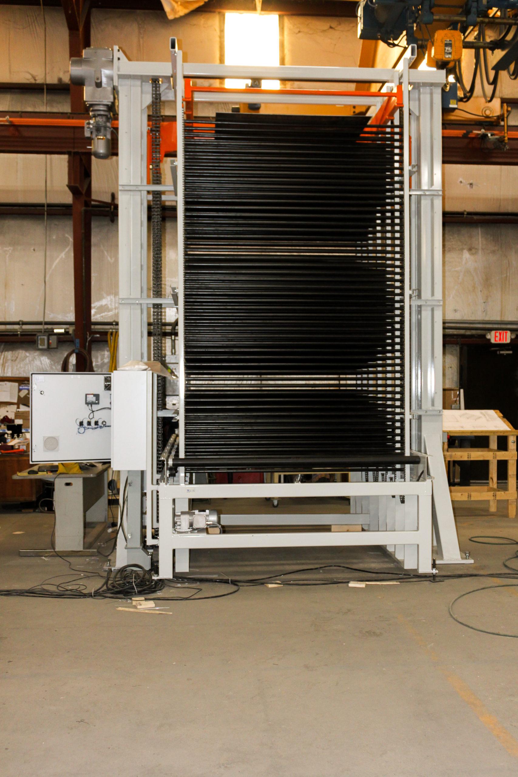 Vertical Accumulators - 50 level heavy-duty accumulator for shower doors | Glassline