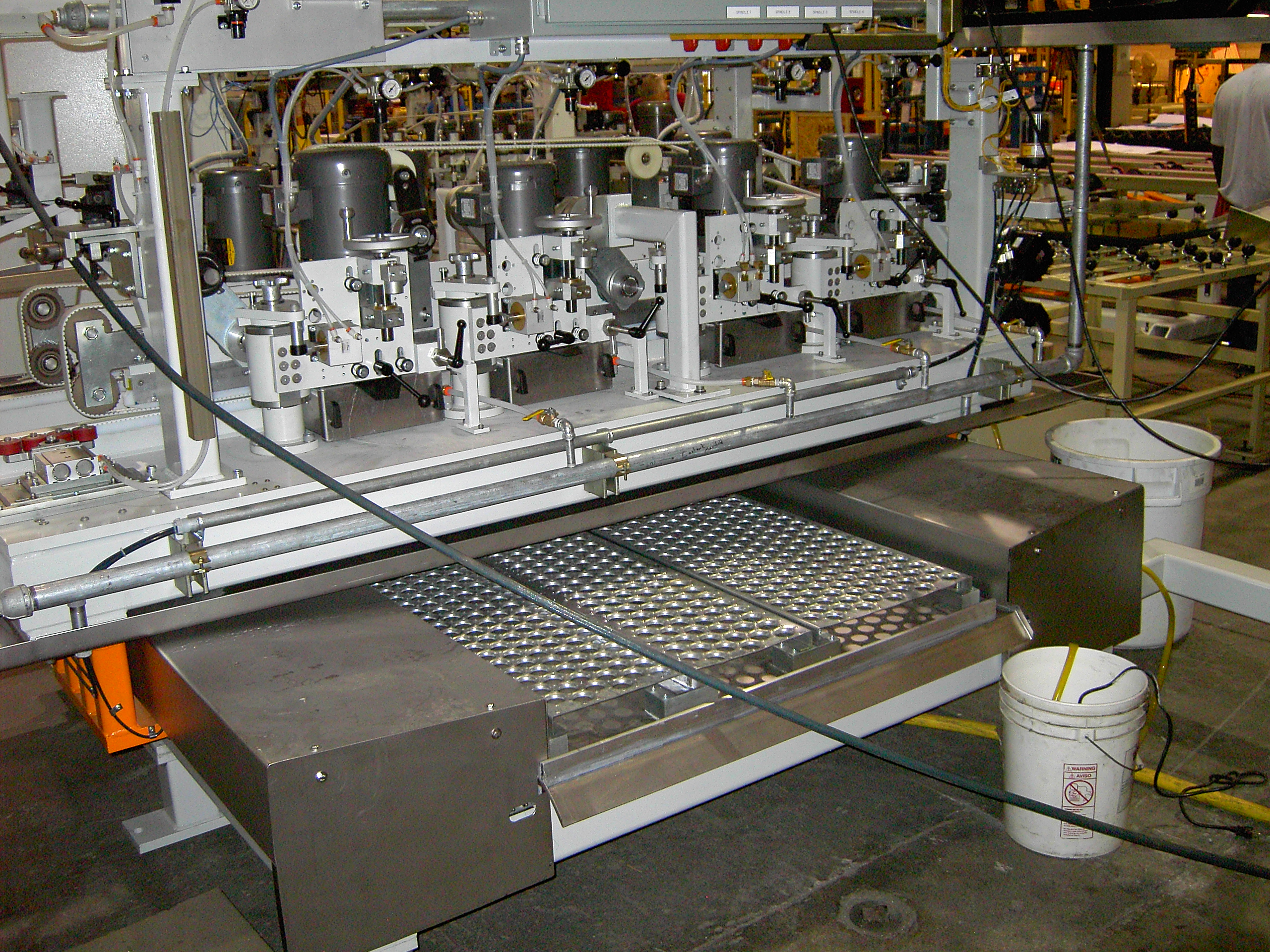 Double Edge Grinding Machine 4 - Glassline
