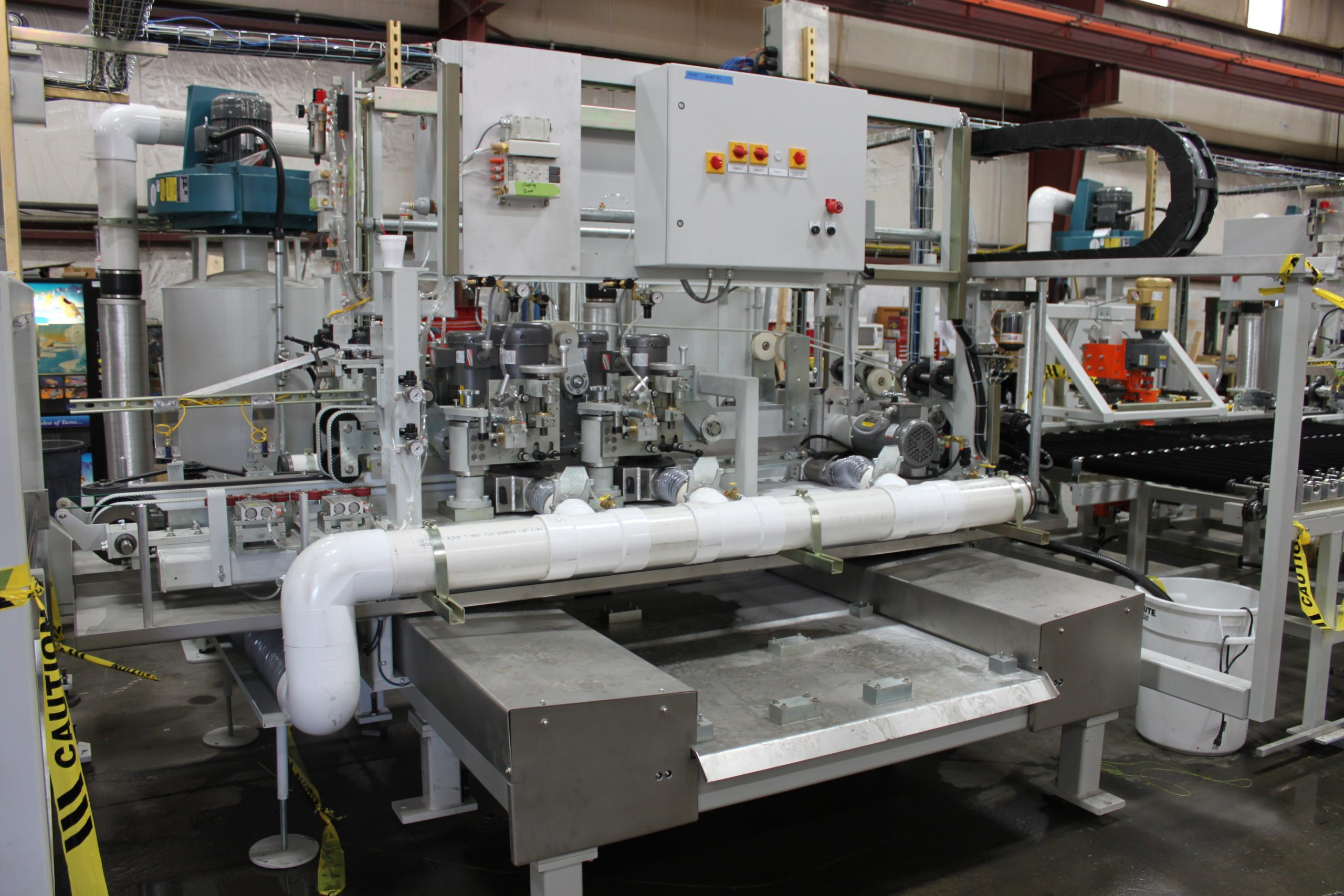 Double Edge Grinding Machine - Appliance(with grooving) - Glassline