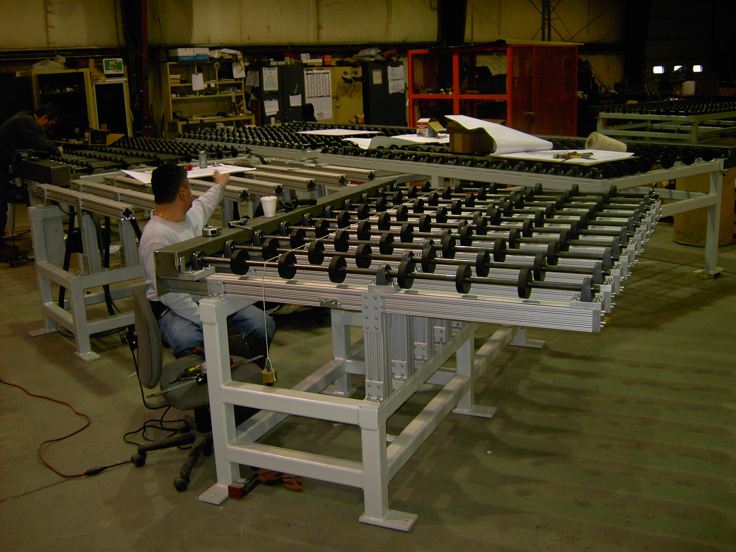 Custom/Specialized Conveyors(ultraviolet, etc.) - Digital StillCamera | Glassline 2