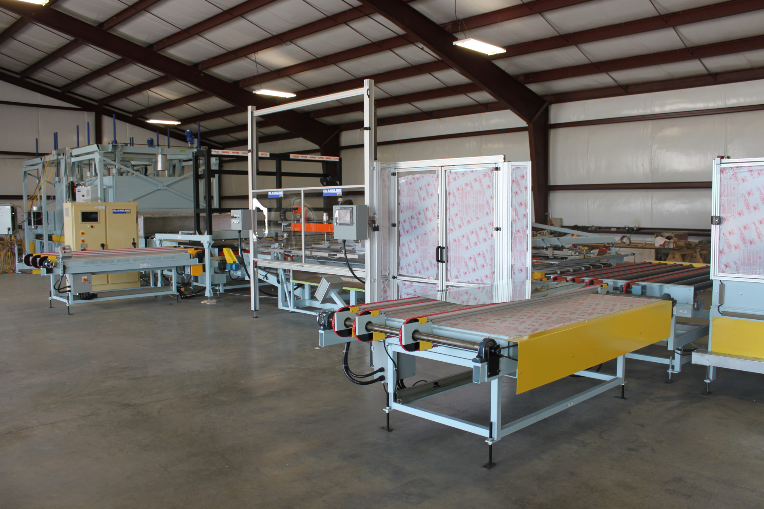 GHS15X Silkscreen Printers(shuttle style) - Complete WS print and dry line | Glassline