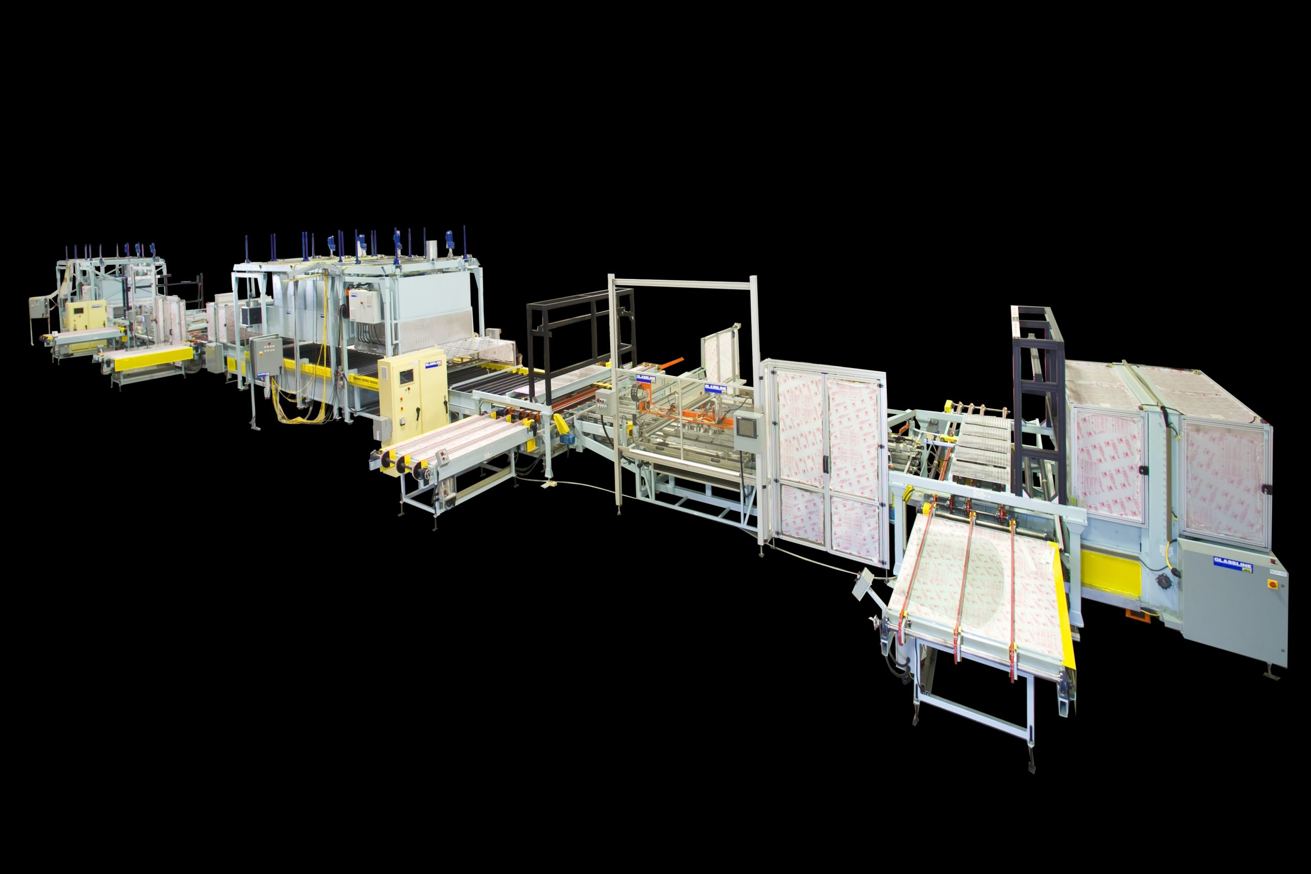 GHS15X Silkscreen Printers(shuttle style) - Double Print and Dry Line for W-S | Glassline