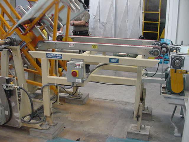 Laminated Automotive Glass De-Airing Line(Nipper Line) - Entry Conveyor to Flip Over   Glassline