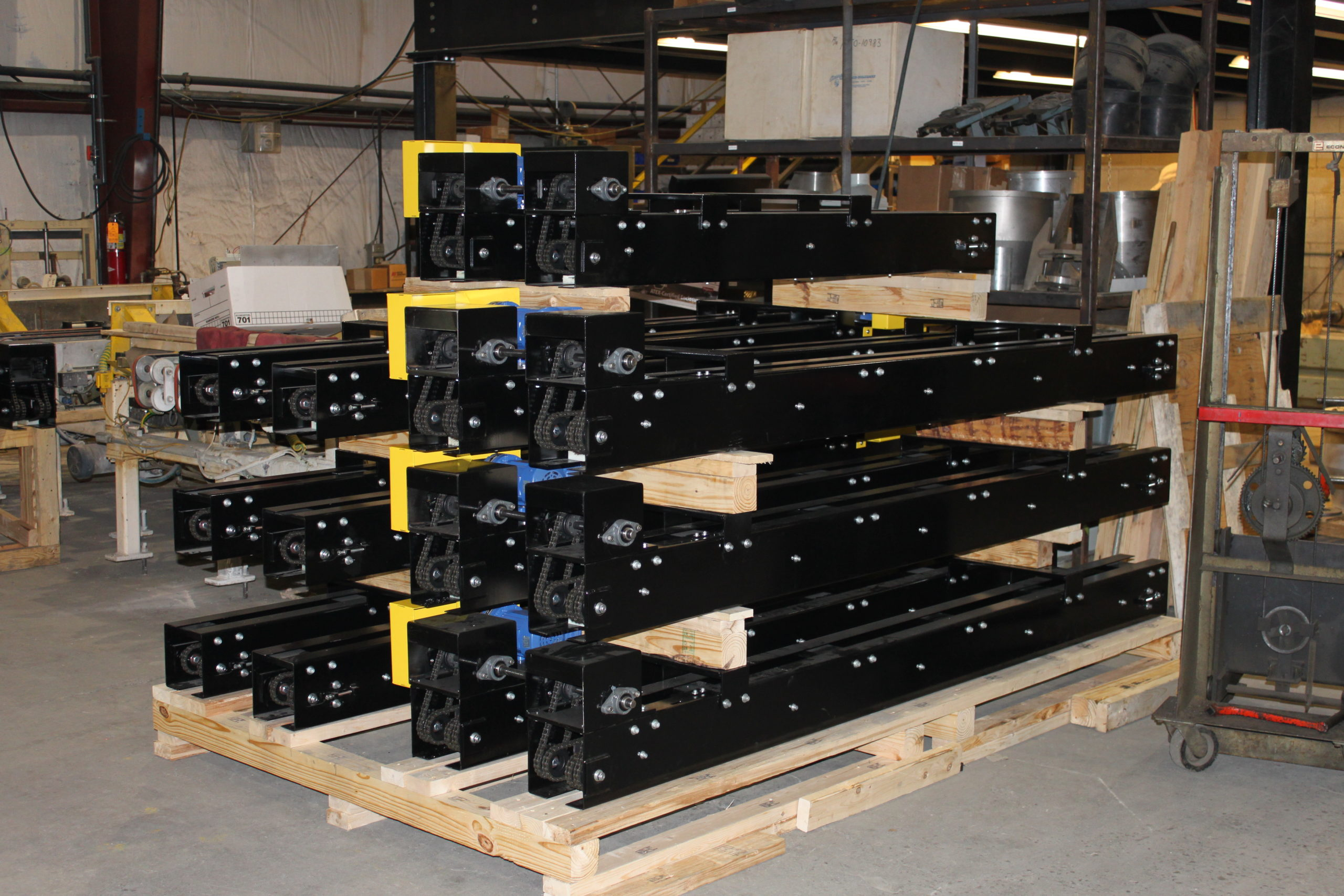 Custom/Specialized Conveyors(ultraviolet, etc.) - Glassline 2