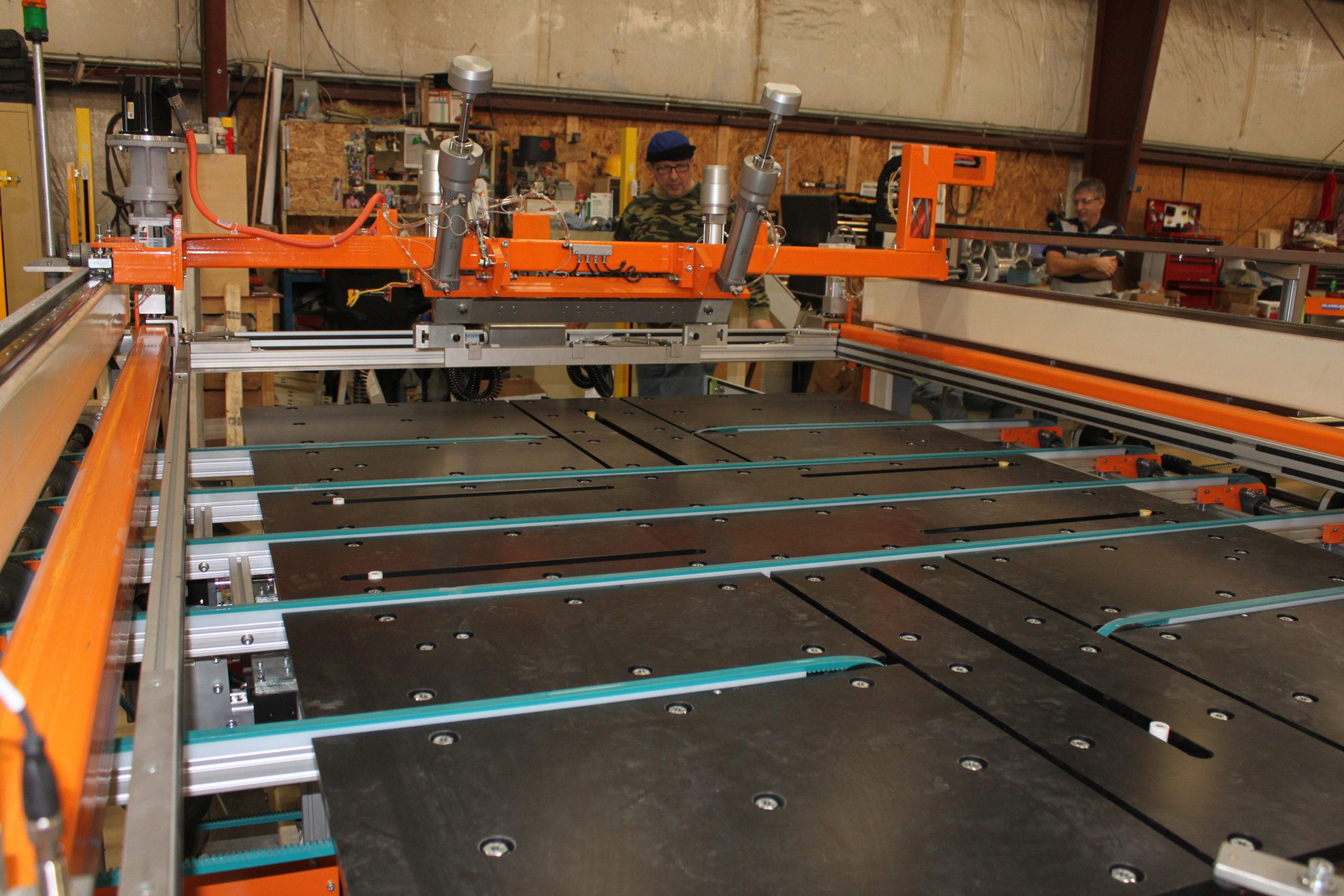 GHS16X Silkscreen Printers(single station) - Glassline 2