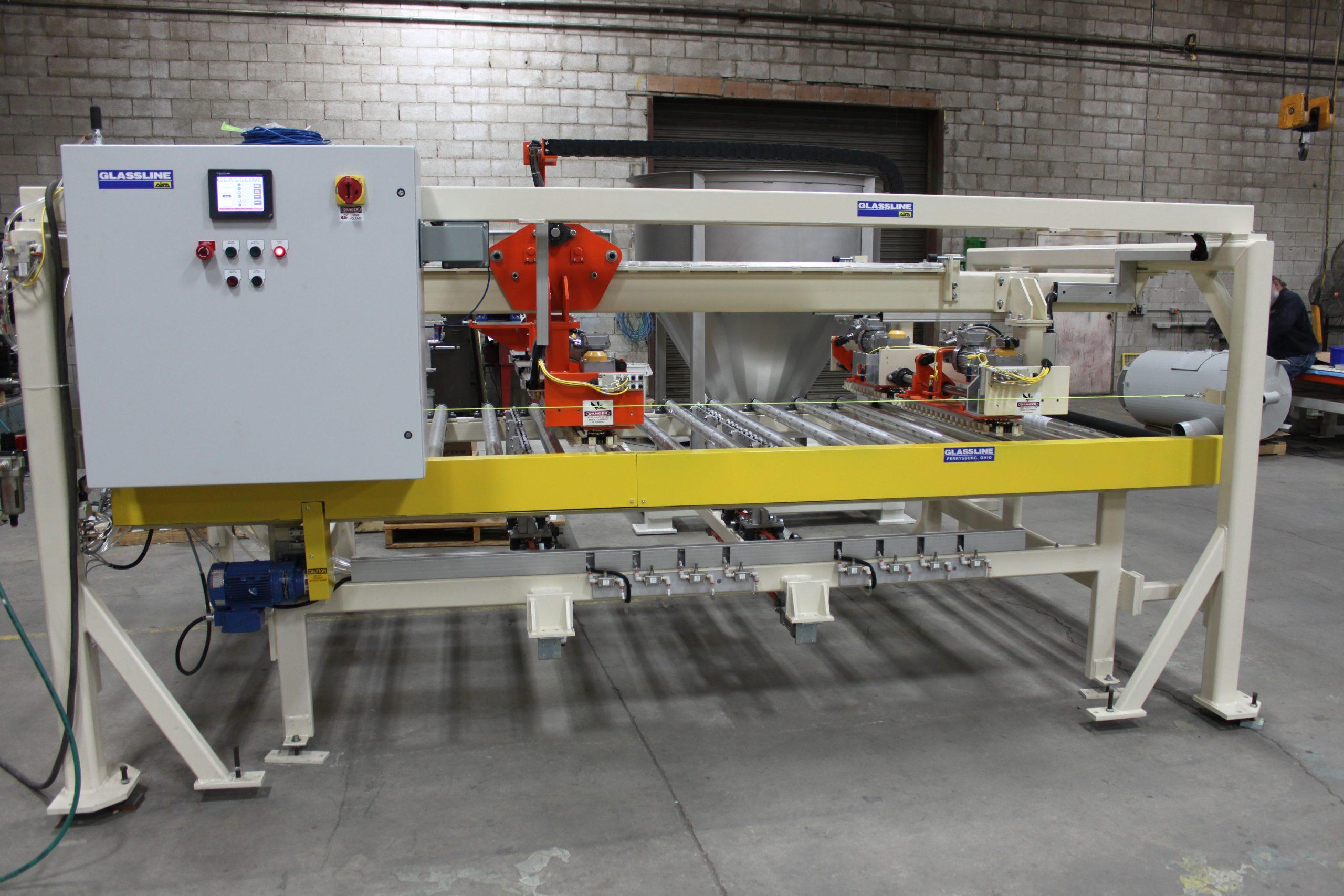 Double Edge Grinding Machine - Custom Drop Transfer - Glassline