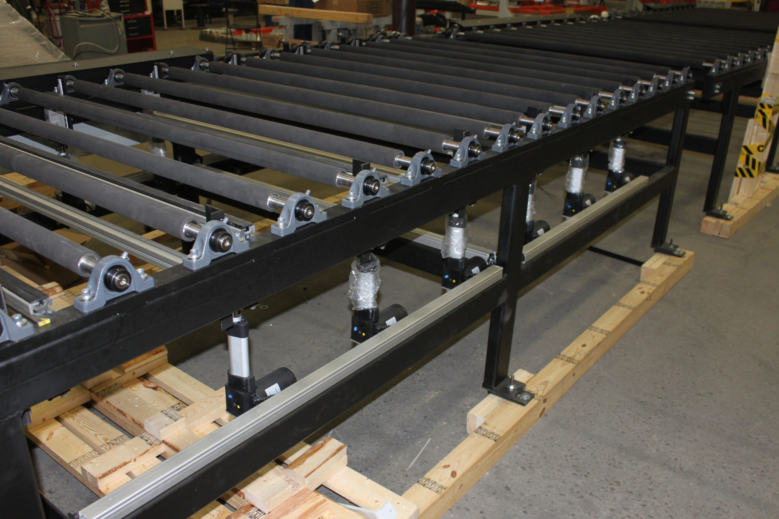 Lite-Sentry Vision Inspection Conveyors - Glassline 1