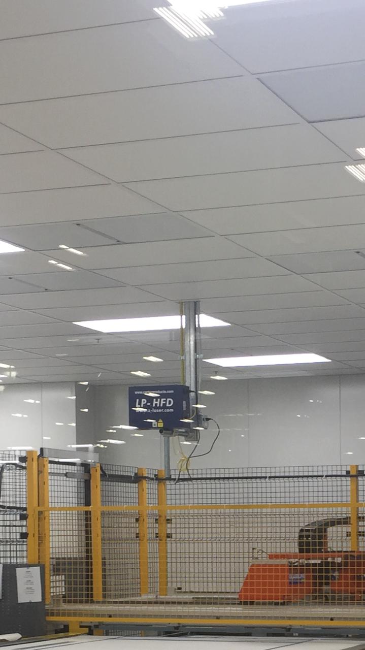 PVB CNC Shape Cutter - laser mounting by customer | Glassline