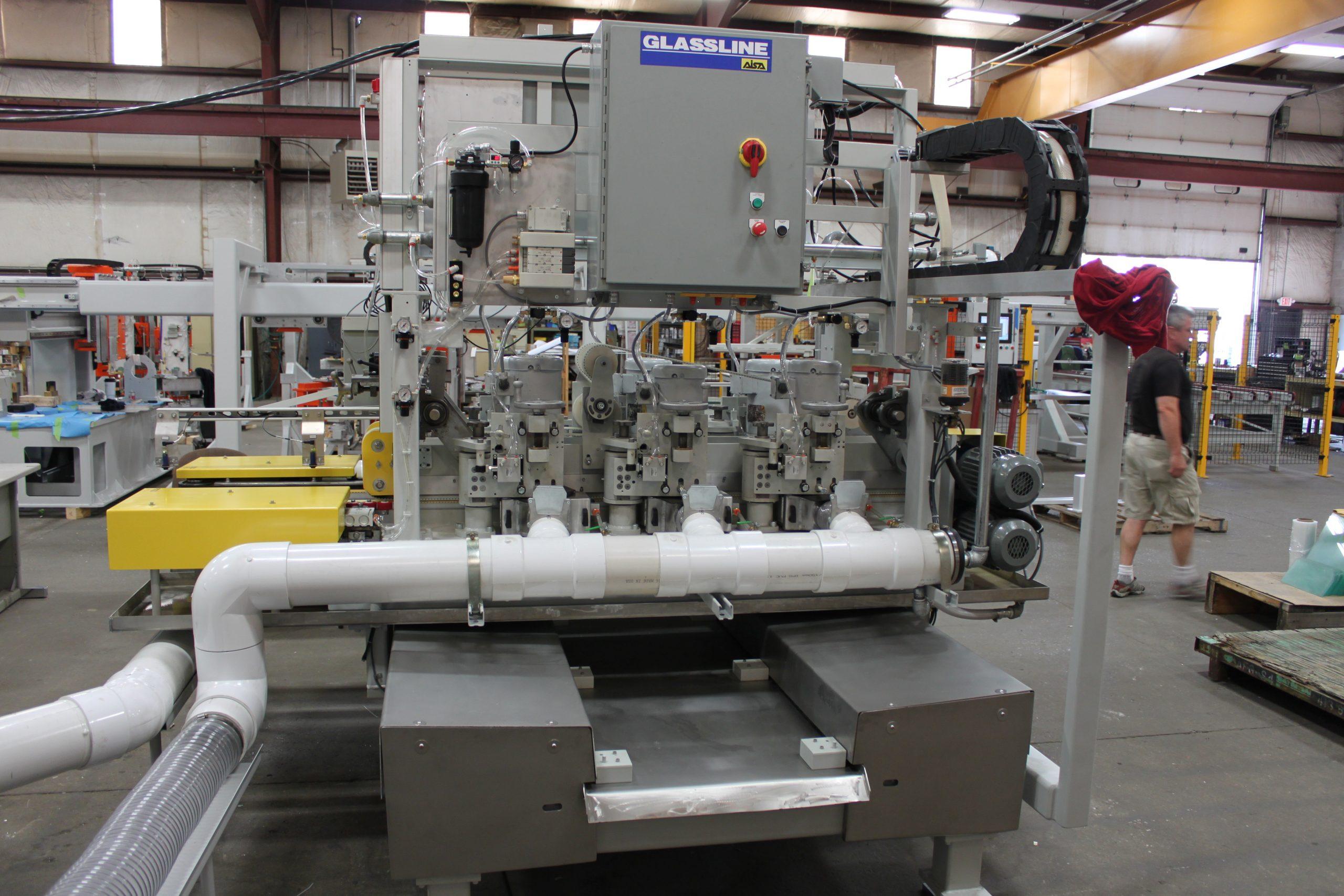 Double Edge Grinding Systems - Rebuilt machine - Glassline