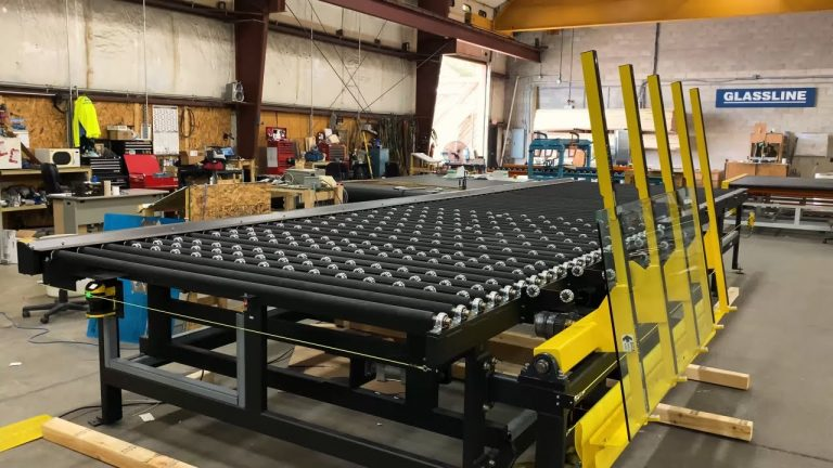 Addition of Tilt-up Unload to the Lite Sentry Inspection Conveyor