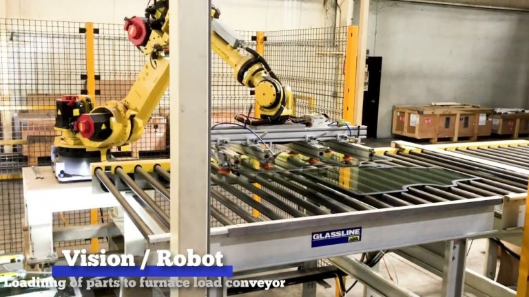 Automotive Furnace Loading Automation with Vision and Robot