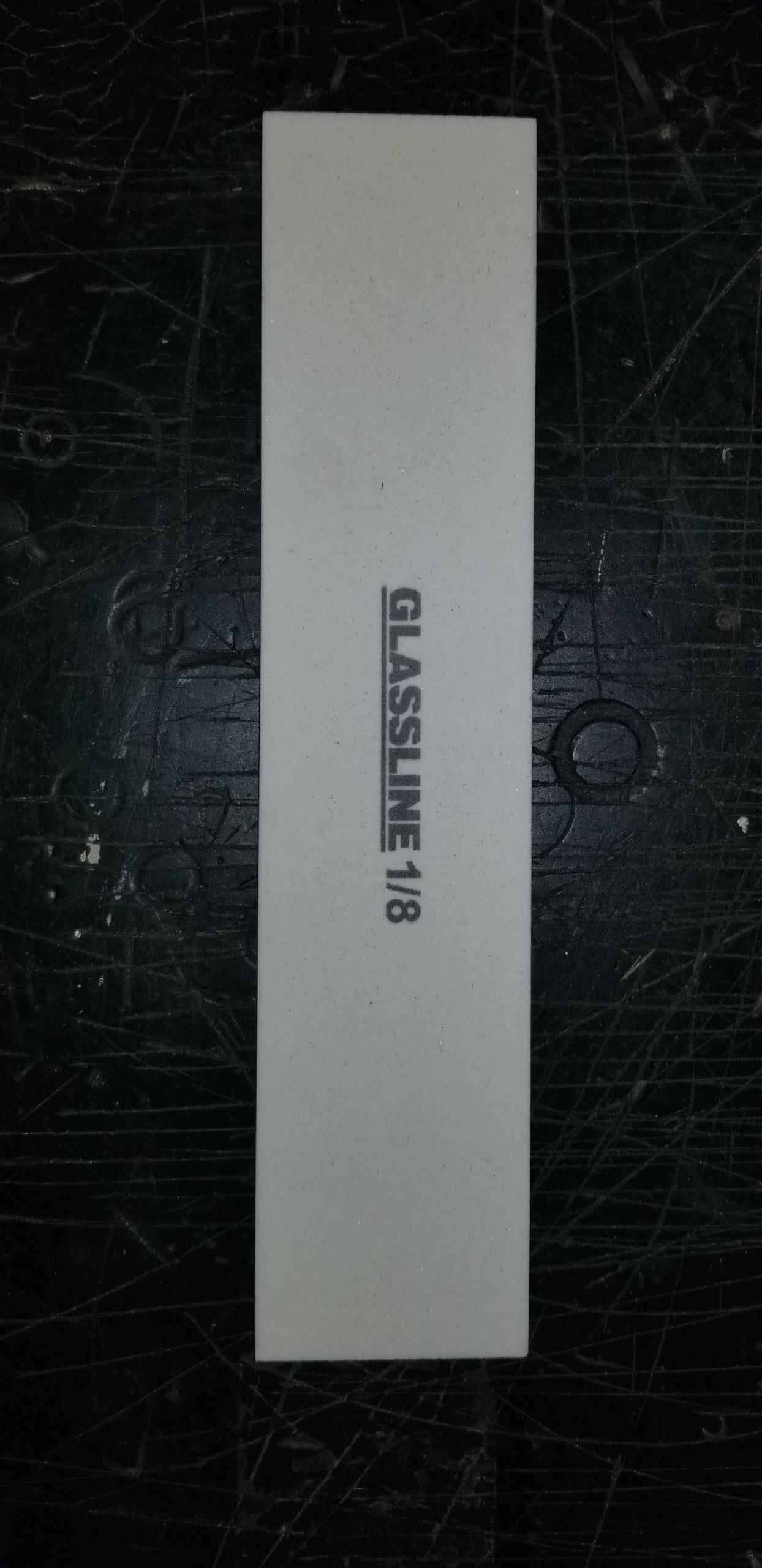 Glassline Dressing Sticks - GLDS 9 X 2 X 1/8