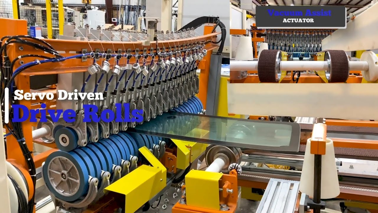 Laminated Automotive Glass De-Airing Line (Nipper Line)