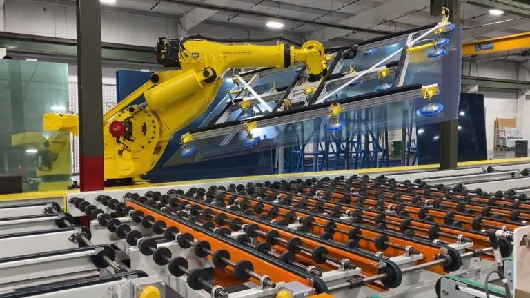 Robotic Arm Loader with CNC Cutter